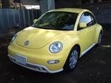VW ニュービートル 社外CDユニット取り付け ETC取り付け 室内LED照明取り付け1