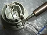 ベントレー コンチネンタルR フロントウィンカー 点灯不良 配線修理4