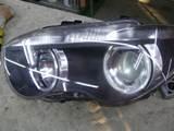 BMW E65 前期 ヘッドライトレンズ面 黄ばみ・くすみ・くもり除去 クリーニングリペア コーティング 防水加工1