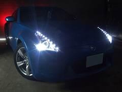 加工ヘッドライト品 プロショップならではの、国家整備士・車体整備士のよる、安心のお取り付け作業 Z34フェアレディZ LEDイカリング ヘッドライト5