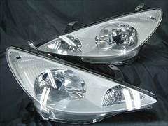 自動車用 ヘッドライト インナー塗装 ブラックアウト メッキ塗装など1