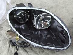加工ヘッドライト 殻割り 防水処理 コーキング12