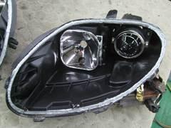加工ヘッドライト 殻割り 防水処理 コーキング7