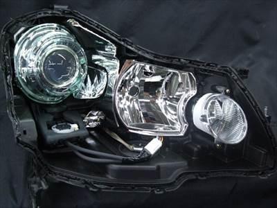 自動車用 ヘッドライト プロジェクター移植について2