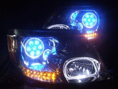 加工ヘッドライトご購入時の注意点 修復後1