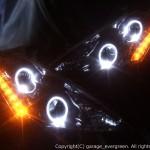 ヘッドライト改造 LED加工 埋め込み レクサス Z50ムラーノ ヘッドライト