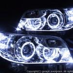 アクリルラインファイバー加工 ヘッドライト改造 カローラルミオン