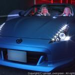 ヘッドライト改造 LED加工 埋め込み Z34フェアレディZ