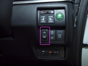 RC1/RC2オデッセイ ヘッドライト加工 スイッチ