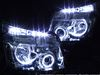■ZRR70系 ヴォクシー前期VOXY■LEDイカリングHIDヘッドライトEG