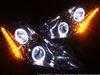 美品■HID付■Z50 ムラーノ■LED&白色イカリング ヘッドライトEG
