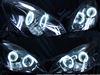 レクサスSC430ドレスアップヘッドライト加工