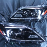 USシエナ インナーブラッククロム塗装ヘッドライト