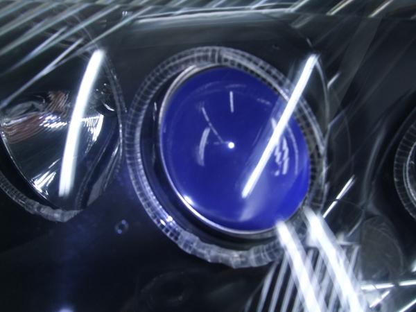 JZA80 スープラ 前期ブルーアイ&ブラック&LEDイカリング ヘッドライト