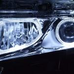 E52 エルグランド 変形LEDイカリング ヘッドライト