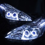 ZVW40/ZVW41 プリウスα  ブルーアイ&LEDイカリングヘッドライト