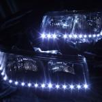 シボレーエクスプレス インナーブラック塗装&LEDイカリング