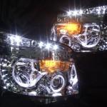 ZRR70W ZRR75W VOXY ヴォクシーLEDイカリング ヘッドライト