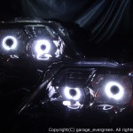 C26 セレナ 前期 ブラッククロム&Wプロジェクター移植 ヘッドライト