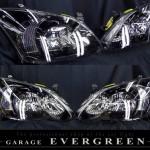 NZE121 ZZE122 NZE124 ZZE124 ZZE123 カローラ ランクス ブラッククロム ヘッドライト