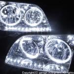 UCF20 UCF21 セルシオ 後期LEDイカリング ヘッドライト