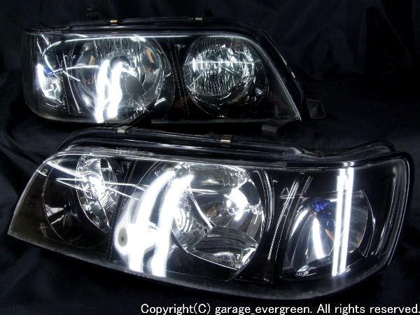 Y33シーマ ブラッククロム&フルクリスタル ヘッドライト