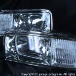 50系 プレジデント ハーフクリスタル ヘッドライト