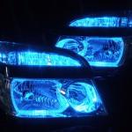AZR60G AZR65G VOXY ヴォクシー青色LEDイカリング ヘッドライト