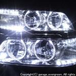 C35 ローレル 前期 LEDイカリング ヘッドライト