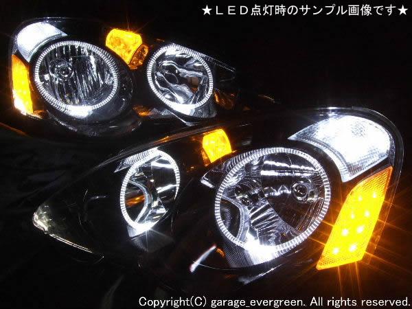 DC5 インテグラ 前期 LEDイカリング プロトモデル ヘッドライト