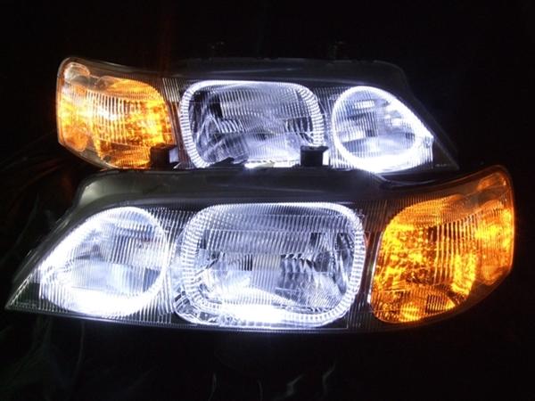 KA9 レジェンド 前期 LEDイカリング ヘッドライト