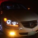KB1 レジェンド LEDリフレクターウィンカー&LEDイカリング ヘッドライト