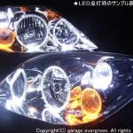 P12 プリメーラ LEDイカリング ヘッドライト