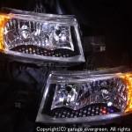 QNC20系 bB LED&スワロフスキー ヘッドライト