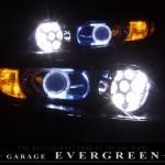 RB1 RB2 オデッセイ バルカンプロジェクター&オレンジLED&LEDイカリング ヘッドライト