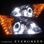 RE3 RE4 CR-V オレンジLED&イカリング ヘッドライト