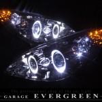 RG1 RG2 RG3 RG4 ステップワゴン 前期/後期 オレンジLED&LEDイカリング ヘッドライト