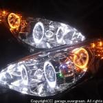 RG1 RG2 RG3 RG4 ステップワゴン 前期/後期 スワロフスキー&LEDイカリング ヘッドライト