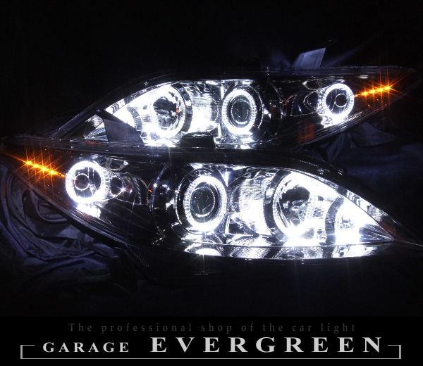 RR1 RR2 RR3 RR4 エリシオン 前期/中期 オレンジLED&LEDイカリング ヘッドライト