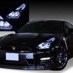 R35 GT-R 前期/中期LEDイカリング&LED ヘッドライト