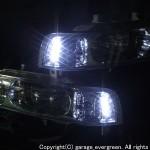 KA7 レジェンド フルクリスタル&サイドLED増発 ヘッドライト