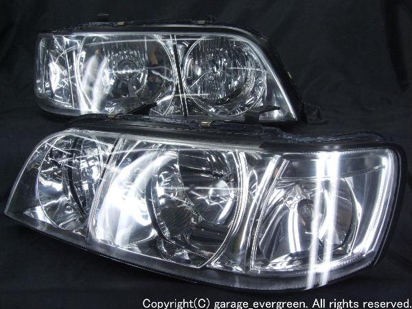 Y33シーマ フルクリスタル ヘッドライト