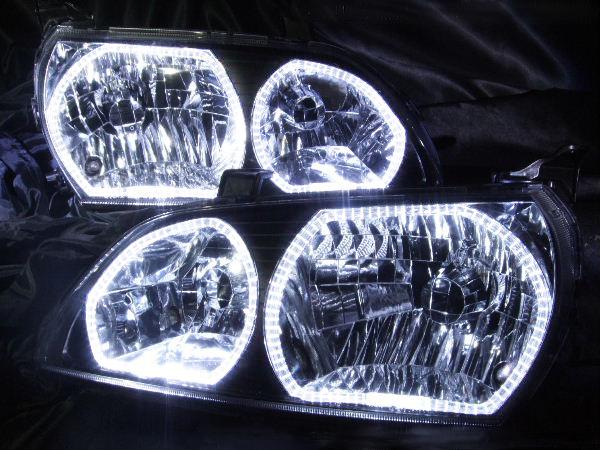 SXM10G/SXM15G/CXM10G イプサム 後期ヘッドライト加工