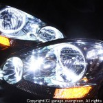 イプサム 前期LEDイカリングヘッドライト