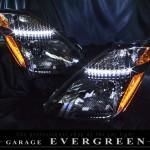 20系 プリウスブラッククロム&LED ヘッドライト