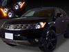 美品■ブラック HID付 Z50ムラーノ LEDイカリングヘッドライトEG