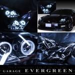 美品■R35 GT-R 前期/中期■LED&イカリング HIDヘッドライト EG