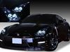 美品■R35 GT-R■プロジェクター&イカリング HIDヘッドライト EG