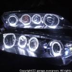 GG系/GY系 アテンザ サイドスワロフスキー&LEDイカリング ヘッドライト