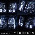DA4W エブリィ ワゴン ブラッククロム&LEDイカリング ヘッドライト